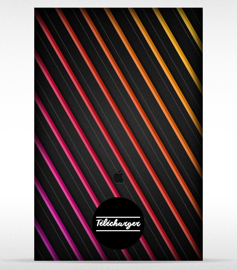 Rainbow Stripes #3