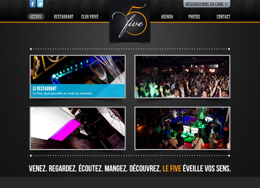 Five-website
