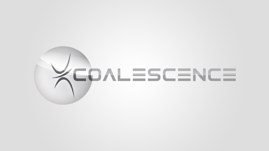 Logotype #4 - coalescence